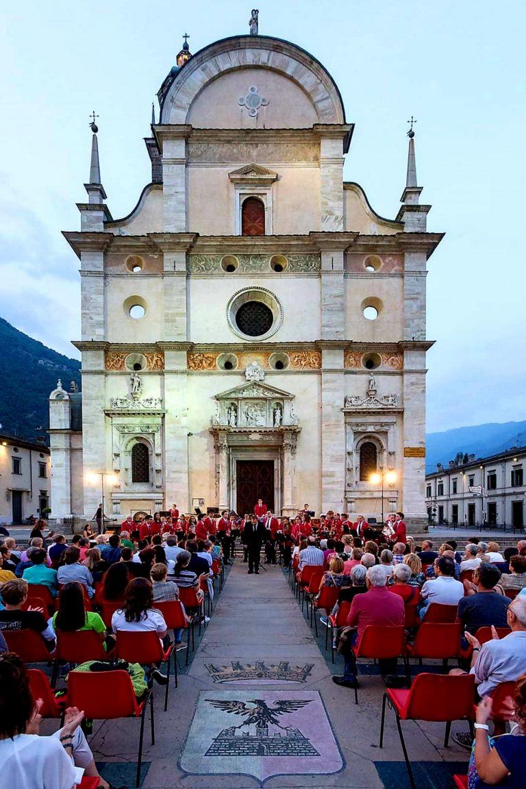 Fine settimana ricco di musica a Madonna di Tirano